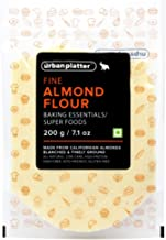 Urban Platter Fine California Almond Flour, 200g [Keto-Friendly, Naturally Protein-Rich, Blanched Almond Fine Powder]