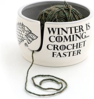 winter is coming yarn bowl