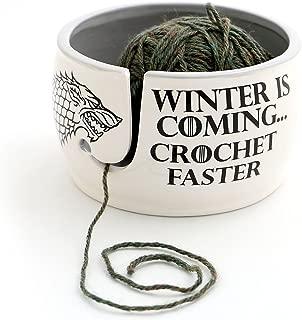 winter is coming yarn bowl
