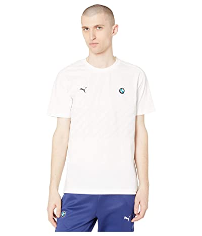 PUMA BMW MMS T7 Tee (PUMA White 2) Men