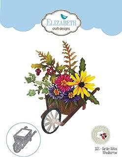 Elizabeth Craft Designs EC1615 Elizabeth Craft Metal Die by Susan's Club Notes-Garden Wheelbarrow