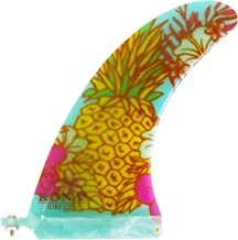 KONA SURF CO. Classic Single Center Fin for Longboard, Surfboard and Paddleboard