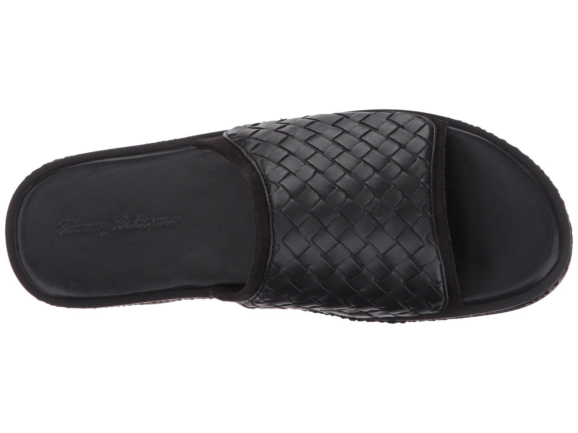 Black Slide Crest Shore Tommy Bahama Woven qxwtACnwv