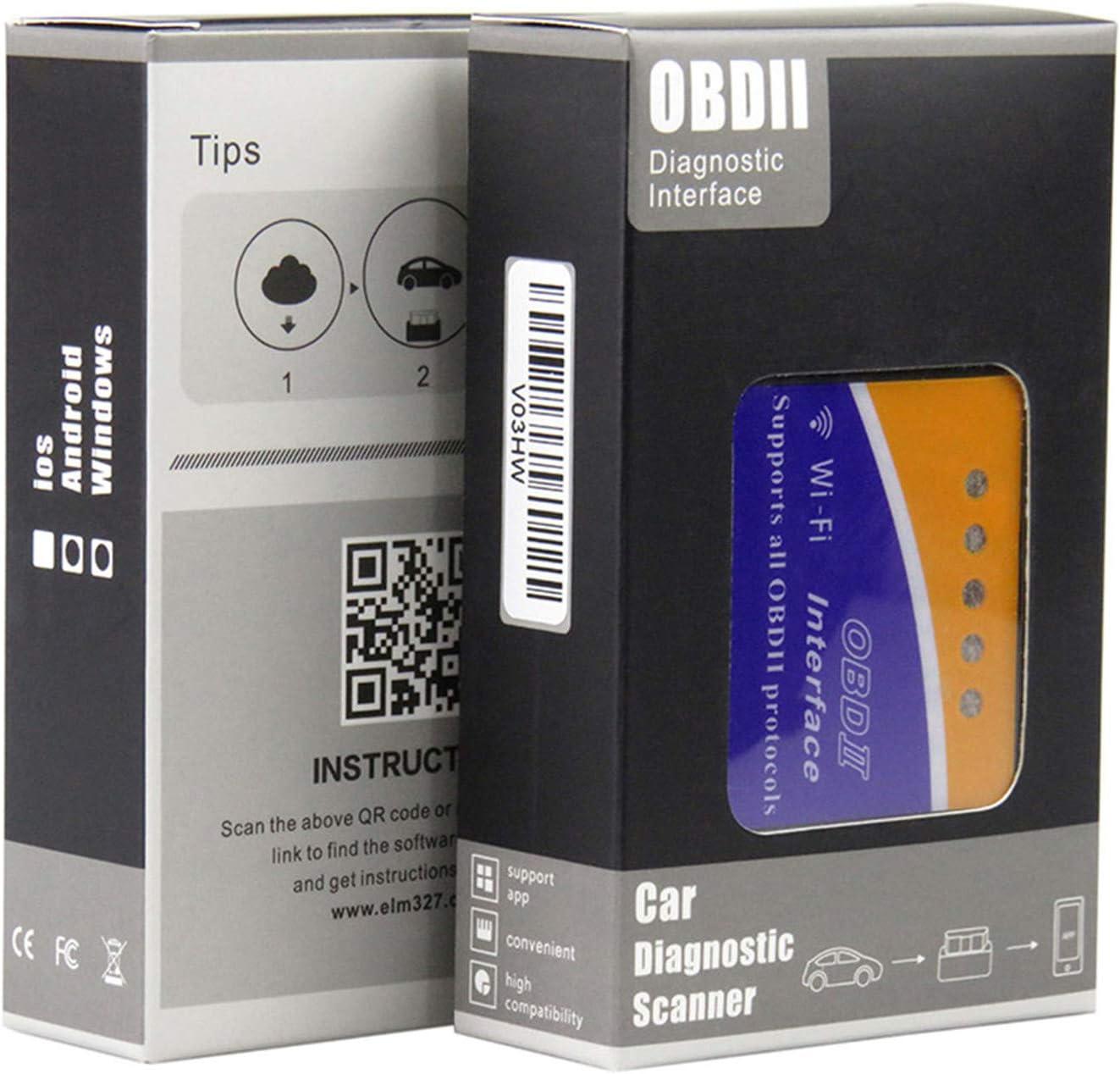 PIC18F25K80 ELM327 WIFI V1.5 OBD2 Auto-Diagnose-Scanner ELM327 Wi ...