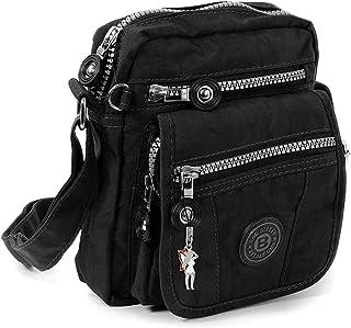 Handtasche / Schultertasche / Umhängetasche klein schwarz