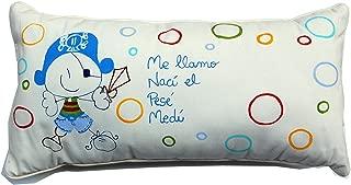 Cojín personalizado de bebe natalicio 40 x 25 cm. Bucanero ...