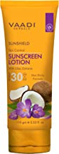 Vaadi Herbals Sunshield Ton Control Sunscreen Lotion SPF-30, 110g