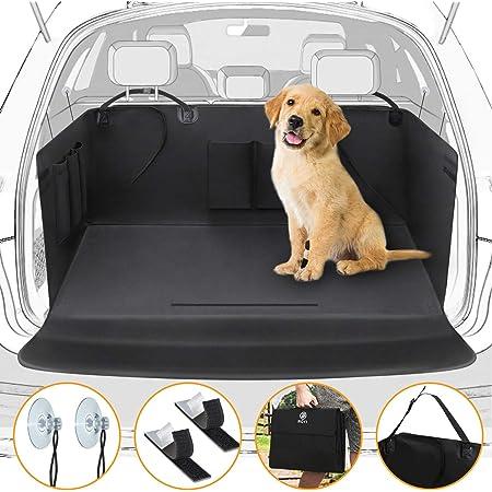Winipet Universeller Kofferraumschutz Kofferraumdecke Für Hunde Wasserdichter Kofferraum Hundedecke Auto Schutzdecke 2 In 1 Mit Seitenschutz Für Pkw Lkw Van Und Suv 171x101cm Haustier