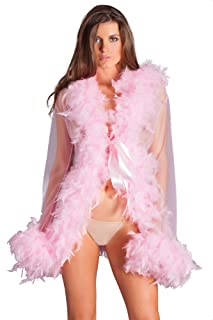 Be Wicked Stunning BW834S Lux Feather Robe