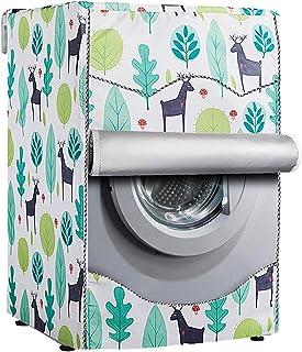 [Mr.You]洗濯機カバー ドラム洗濯機専用 防水日焼け止め 防水生地 (XL,もり)