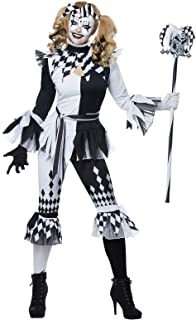crazy jester costume