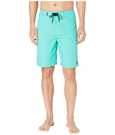 Hurley One Only 2.0 21 Boardshorts (Aurora Green/Black) Men