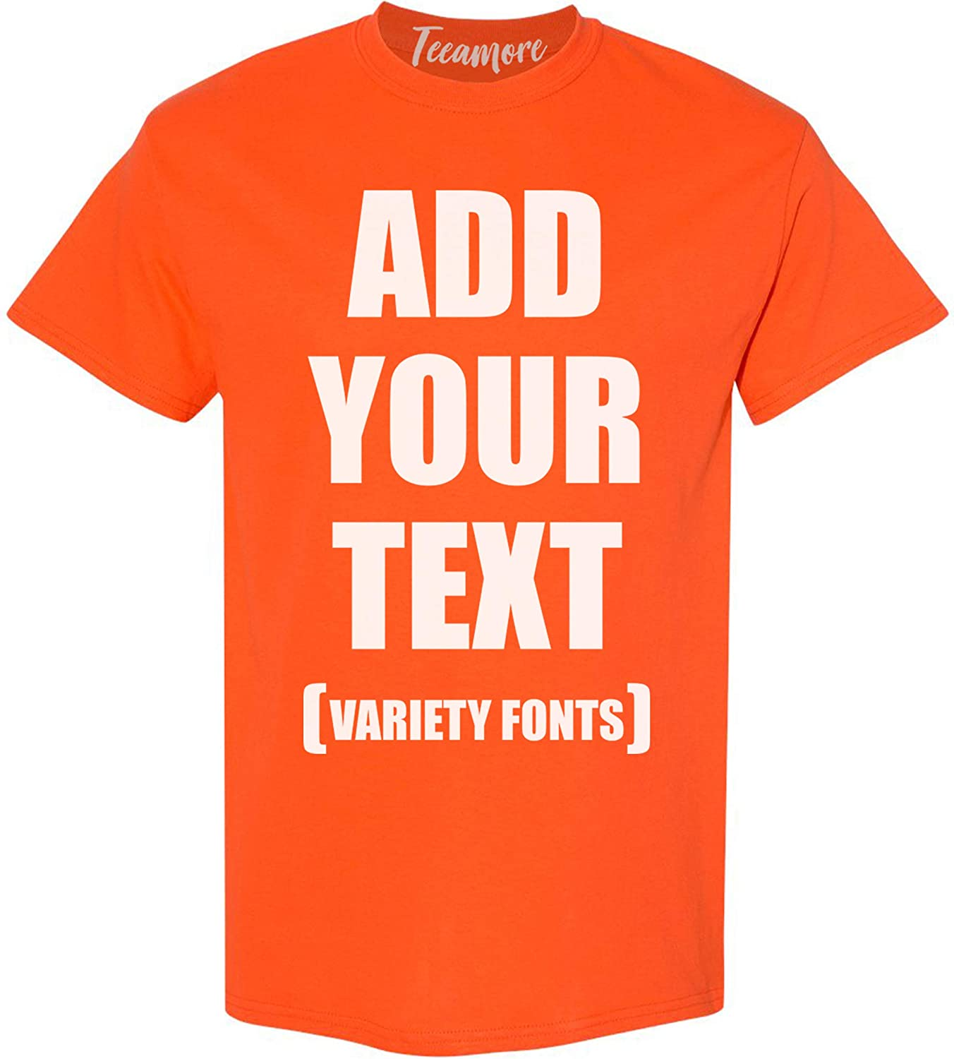Custom T Shirts for Men Women Max 41% OFF New arrival Add Text Personalized Your Unise