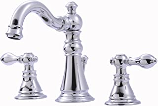 Ultra UF55110 Two-Handle Chrome Lavatory Faucet with Pop-Up Drain,