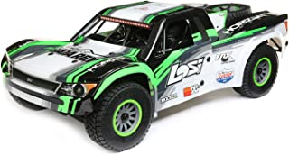 Losi 1/6 Super Baja Rey 4WD RC Desert Truck Brushless RTR with Avc, Black (LOS05013T1)