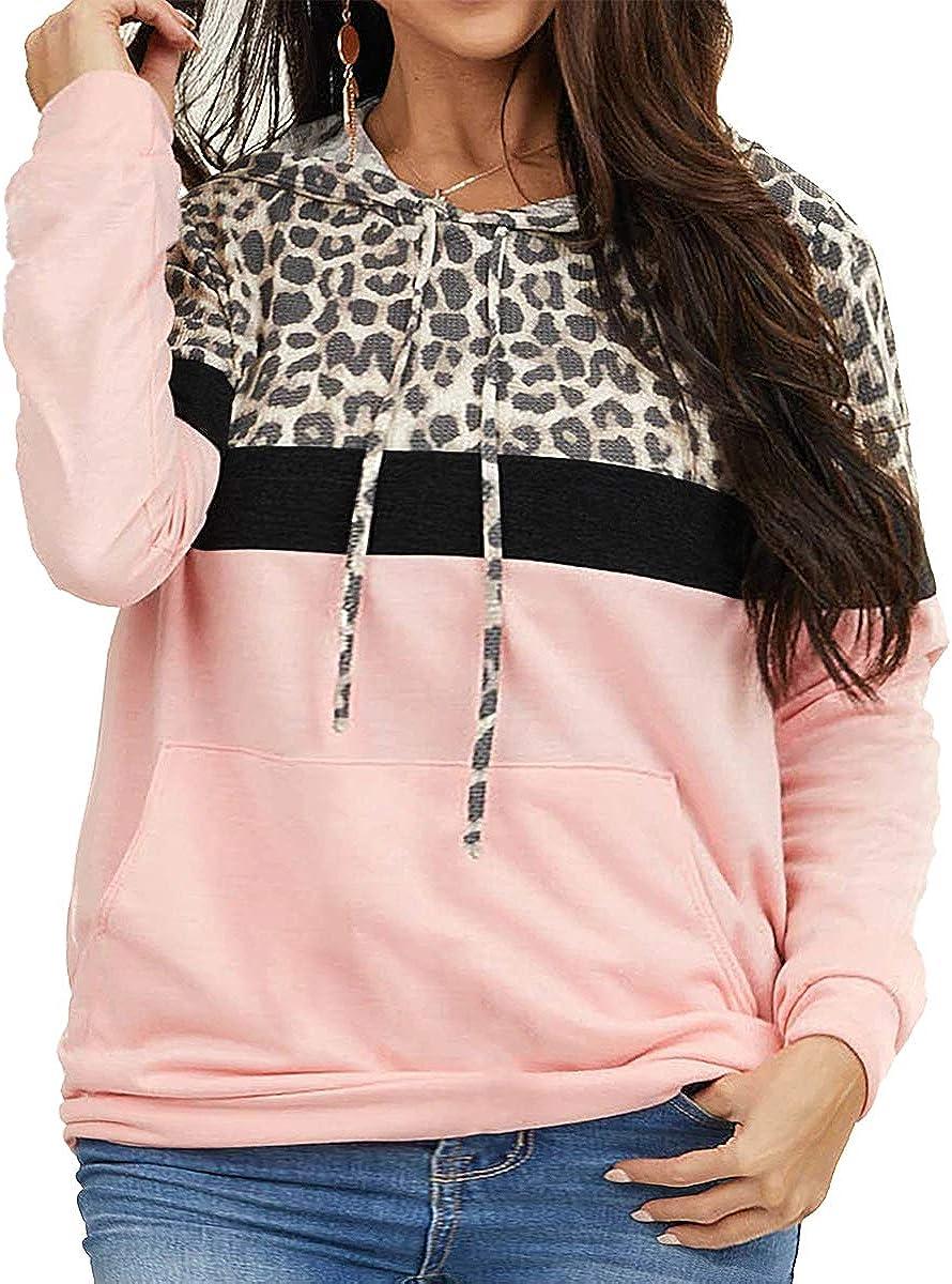 Ritera women plus size Hoodie XL-5XL Pullover Colorblock Sweatshirts Casual Tunic Tops hoodies