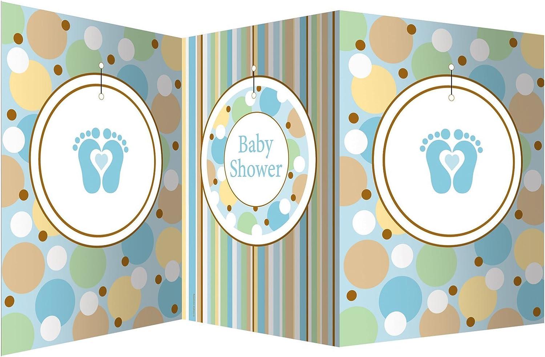 Creative Congreening 190589 Tiny Toes bluee Centerpiece