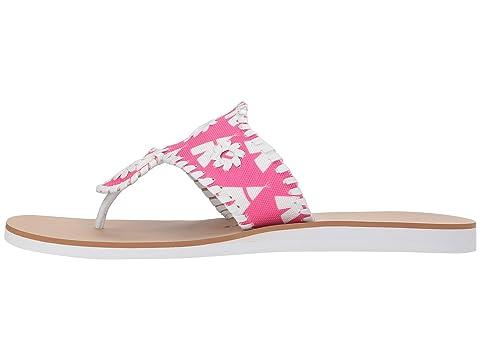 Genuine Online Buy Sale Online Jack Rogers Captiva Bright Pink/White Stockist Online Cheap Online Store 2mLMQ