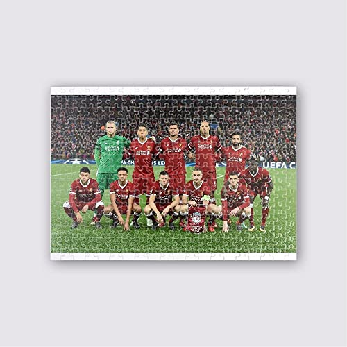 Dipinto Jigsaw (17x12) 300 piece with 6x4 print - Liverpool v Manchester City - UEFA Champions League Quarter Final Leg One