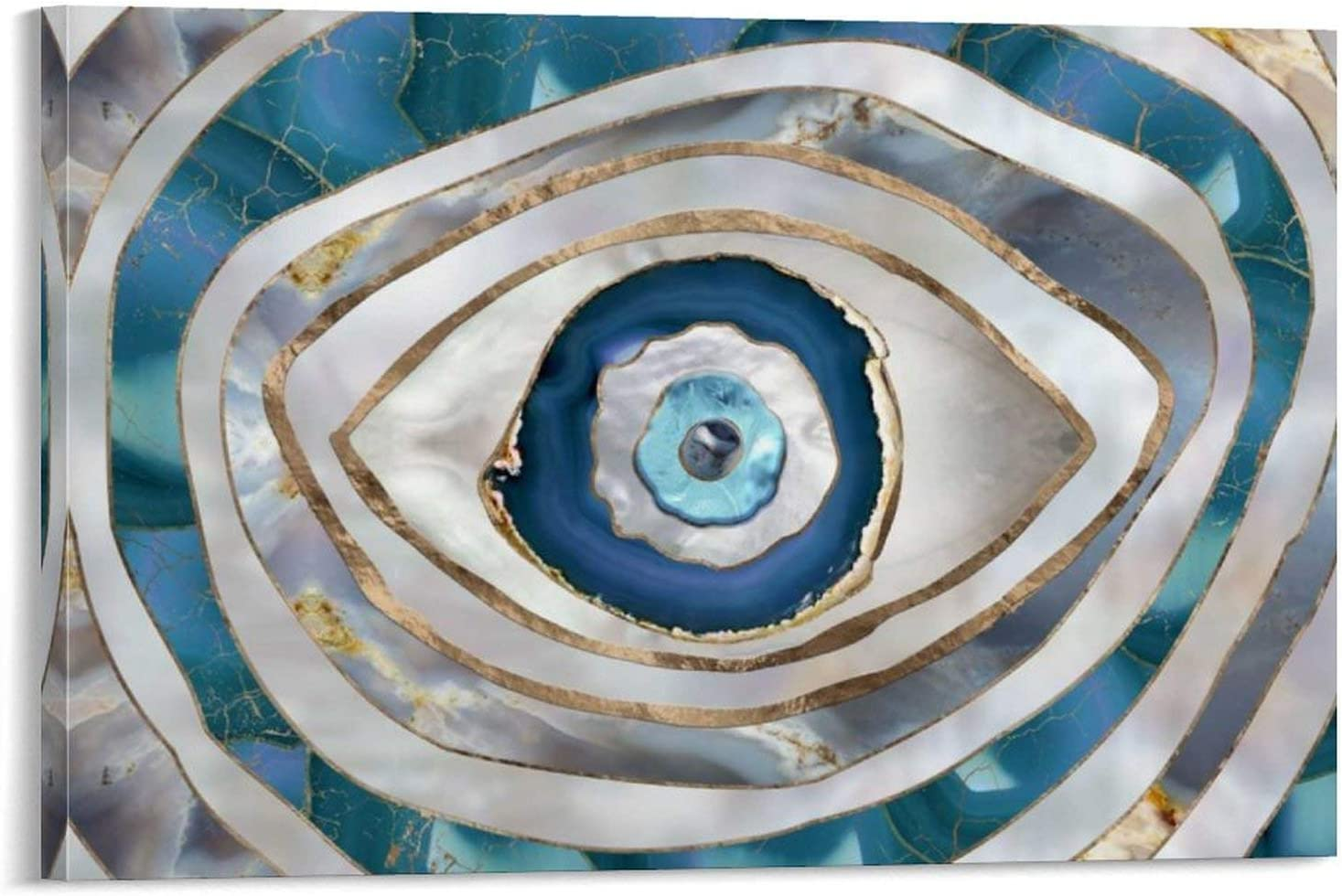 maojin Evil Eye Amulet Ornament Decorative Special Campaign Painting Poster Canva Louisville-Jefferson County Mall