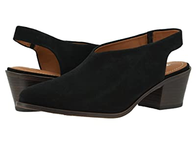 Trask Tess (Black Oiled Suede) Women