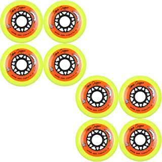 Labeda Wheels Roller Hockey Gripper 80mm Medium 83A 8pk