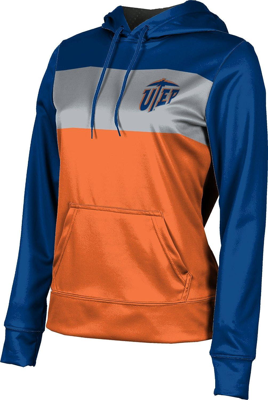 The University of Texas at El Paso Girls' Pullover Hoodie, School Spirit Sweatshirt (Prime)