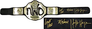 hulk hogan signed belt