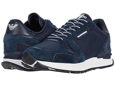 Emporio Armani Milano Sport Sneaker (Navy) Men