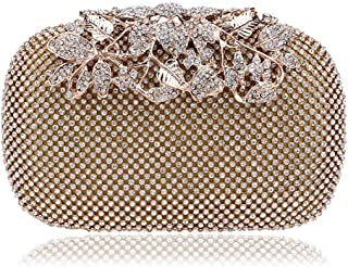 ZYWYB Embroidery Wedding Clutch Satin Sequin Evening Bags and Clutches for Women (Color : Silver)