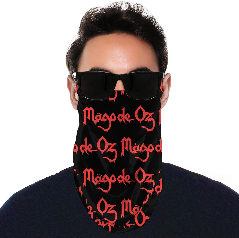 SIPONE Washable Men's & Women's Mago De Oz Reusable Multiuse Bandanas Neck Gaiter Print Mask