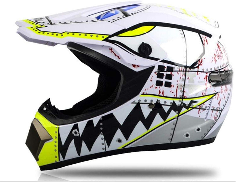 CHLDDHC Financial sales sale Motocross Helmet Gloves Mask Sale SALE% OFF and 4 Goggles DOT of Set