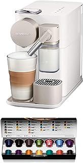 De'Longhi Nespresso EN 500.W ekspres do kawy (1400 W, 1 l, 19 bar), kolor biały