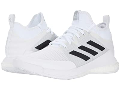 adidas Crazyflight Mid (White/Black/Grey) Women