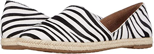 Black/White Zebra Haircalf