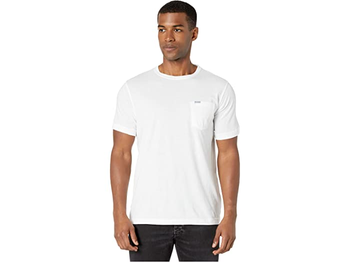 Columbia Pfg™ Fish Flag Pocket Tee White/red Spark Fade Shirts & Tops