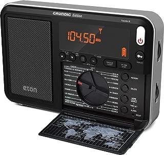 Eton Grundig Edition Traveler Longwave/Shortwave Radio with Audio Tuning Storage