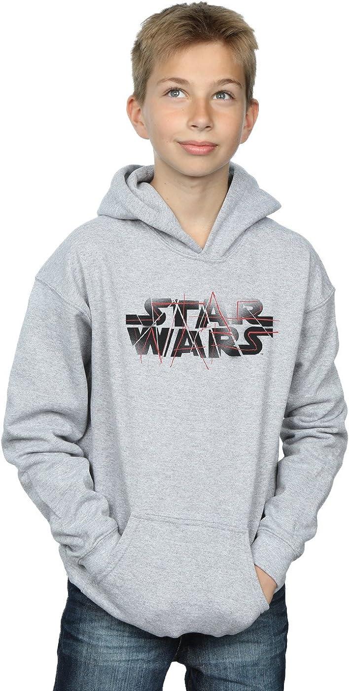 Star Wars Boys The Last Jedi Spray Logo Hoodie 12-13 years Sport Grey