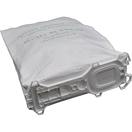 131 SC 18 Staubsaugerbeutel Filterset Bürsten geeignet für Vorwerk kobold 130
