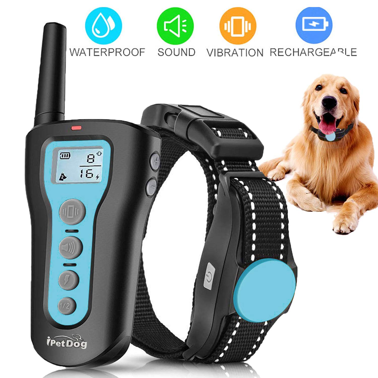 Training Rechargeable Waterproof Vibration Harmless