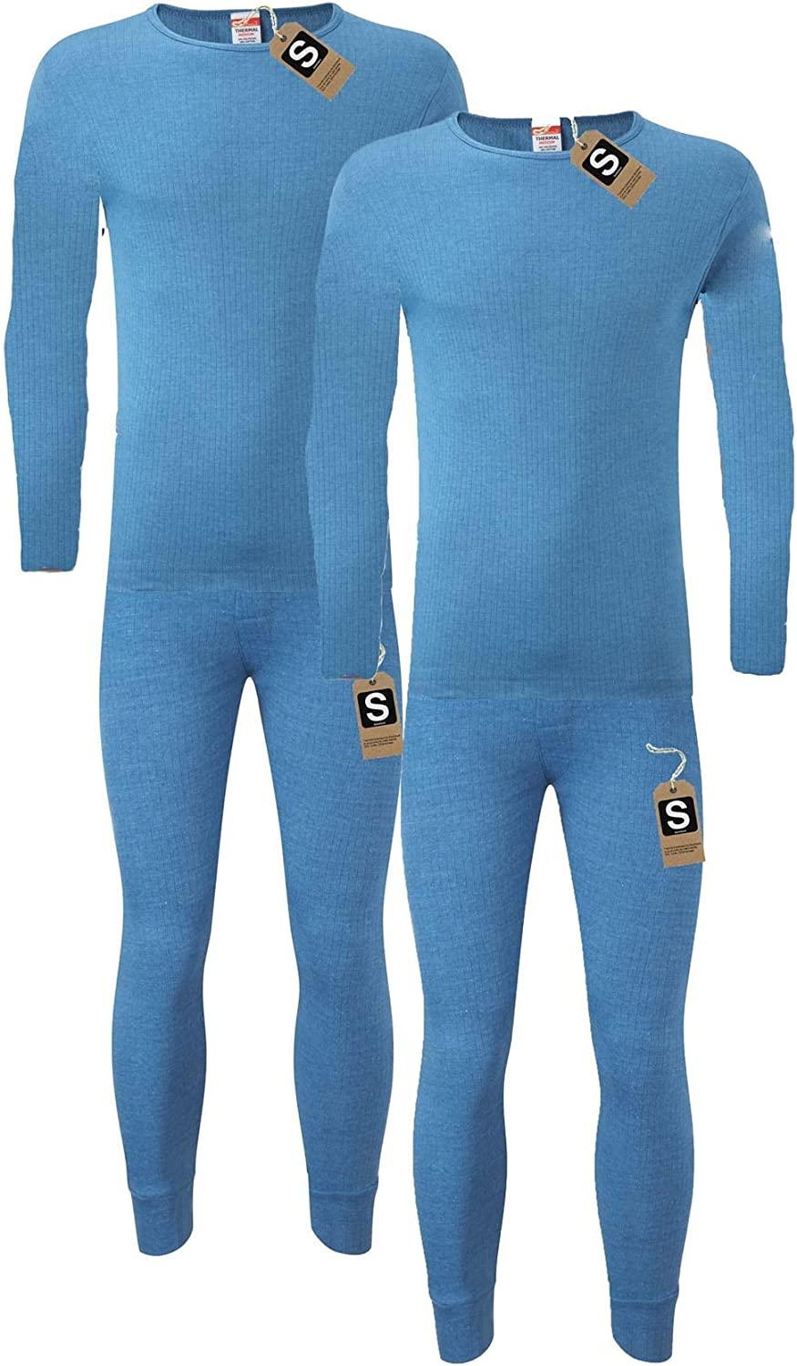 Long Sleeve Top /& Long Johns Set Heatwave/® Pack of 2 Mens Extreme Thermal Underwear Set Winter Thermals