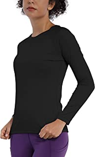 BUBBLELIME Women's UPF 50+ Sun Protection Athletic T-Shirt Workout Tops Quick Dry Outdoor Sports (Long/Short Sleeve)