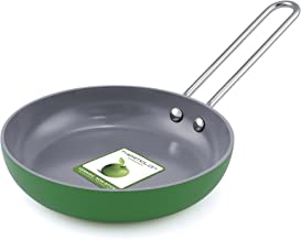 GreenPan One Egg Wonder Ceramic Non-Stick Fry Pan - Green (CW0004159) 5 Inch