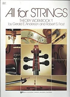 All For Strings Theory Book 1: Cello