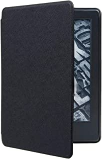 NEXARY Kindle Paperwhite 2018 第10世代 ケース カバー 軽量 スリム オートスリープ (KPW2018 ブラック)