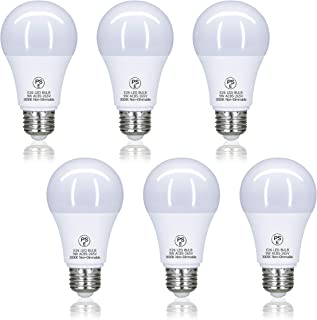 LED電球 口金26mm 60W形相当 9W 電球色 900ルーメン(LM) 一般電球 広配光タイプ 密閉器具対応 断熱材施工器具対応 省エネ (セット:6個入り) PSE認証済