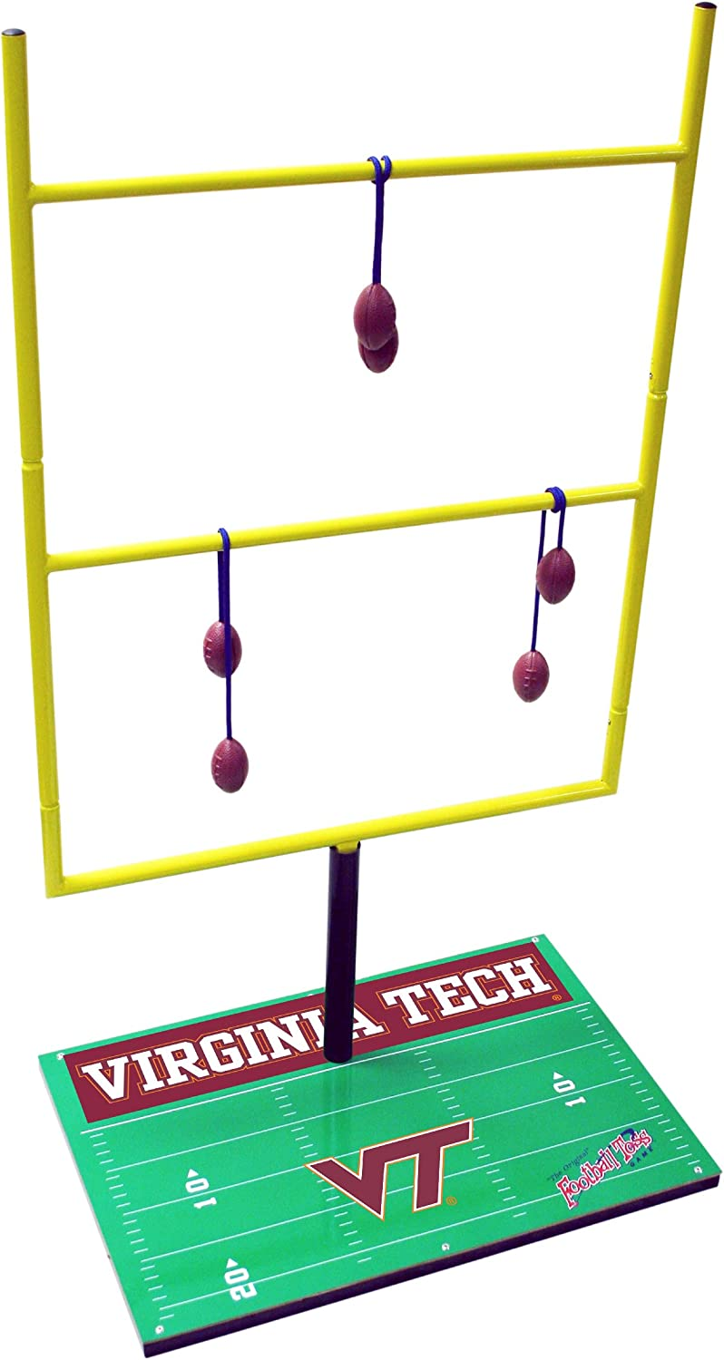 Wild Sports FBTCDVTECH NCAA Virginia Tech Hokies Goal Post Toss Game II