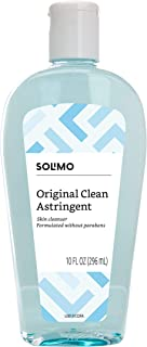 Amazon Brand - Solimo Original Clean Astringent Skin Cleanser, 10 Fluid Ounce