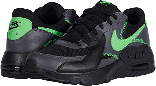 Black/Green Strike/Dark Grey