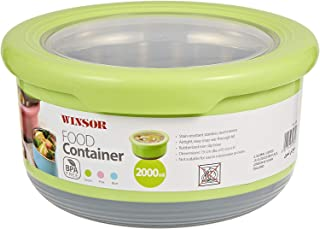 Winsor Food Container 2 Liter, Green - WFC2000